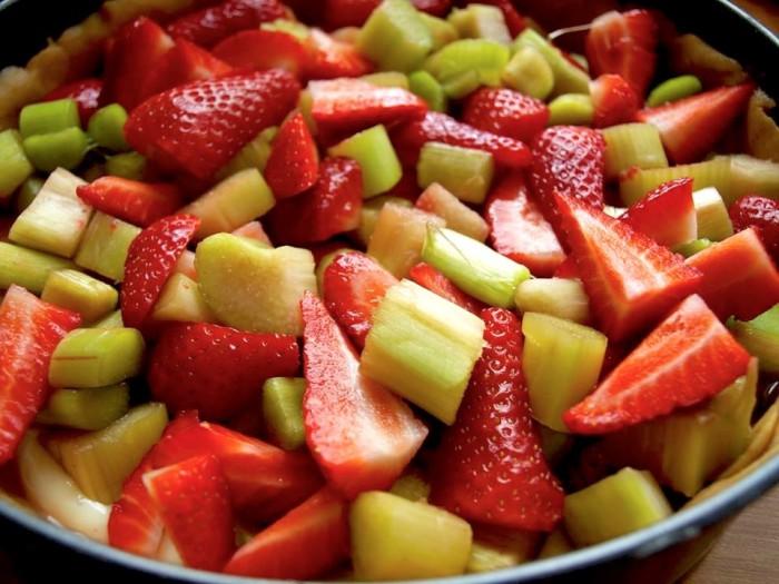 Rhababer Erdbeer Tarte