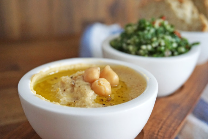 Hummus - Kichererbsenmus