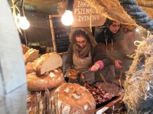 Weihnachtsmarkt Polen Krakau 2014